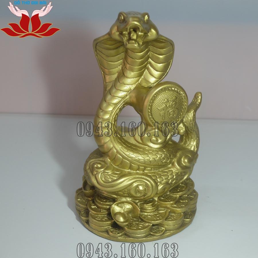 Chi tiết hình ảnh tượng rắn phong thủy