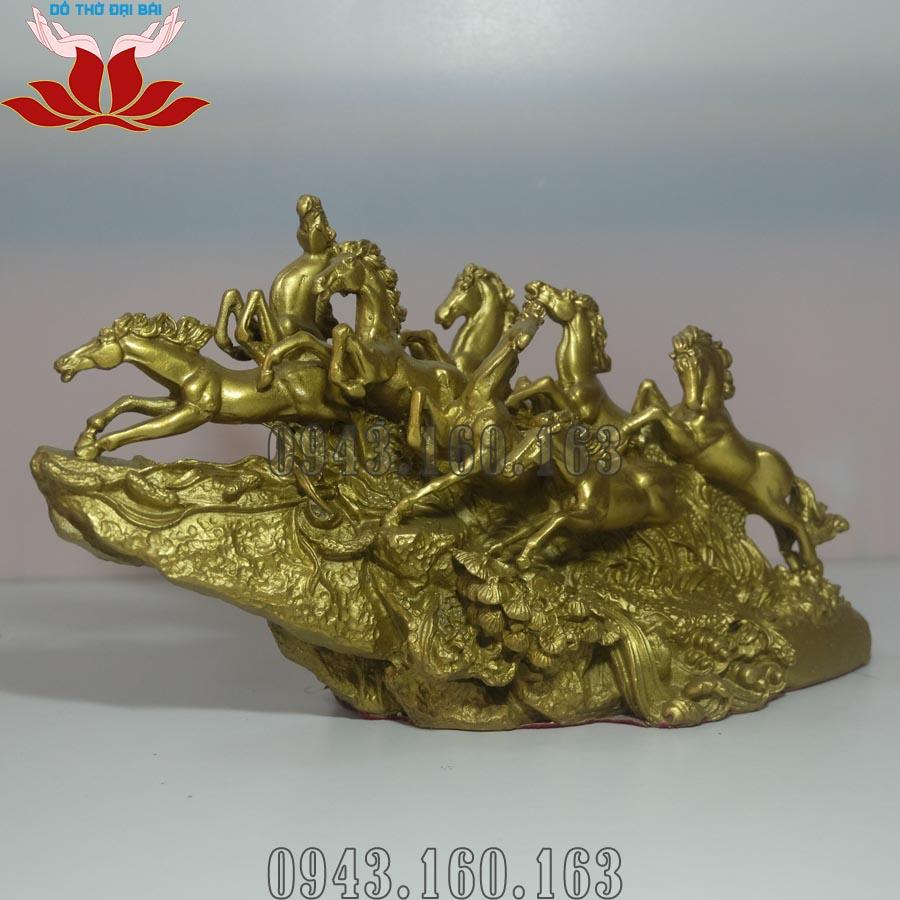 Tượng Bát Mã Phi Thiên đồng vàng